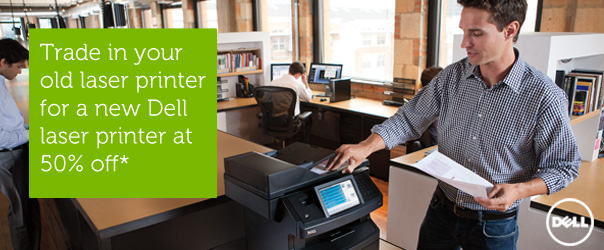 Find out how great a deal you can get on a new Dell printer. Request a printer consultation today!