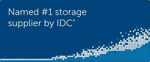 Named #1 storage supplier by IDC