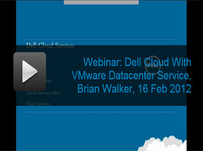 Dell Cloud with VMware Datacenter Service