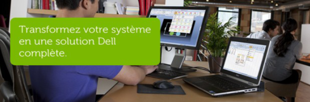 Turn your system into an end-to-end Dell solution