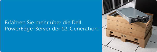 Mehr über die Dell PowerEdge-Server der 12. Generation