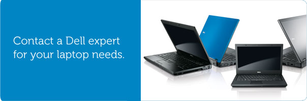 Contact a Dell expert for your laptop needs.