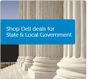 Shop Dell deals for State & Local Government