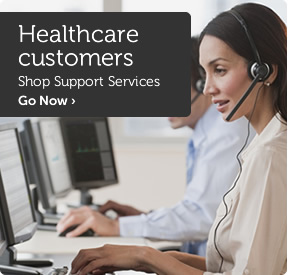 Healthcare customers shop server solutions