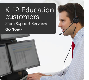 K-12 Education customers shop server solutions