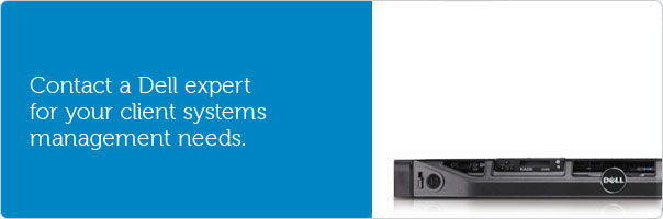 Contact a Dell expert for your client