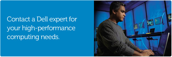 Learn moe about Dell High Performance Computing solutions