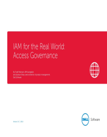IAM for the Real World Access Governance