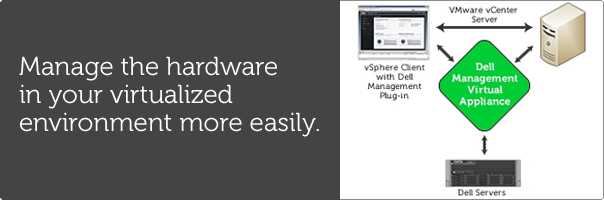 Manage the hardware in your virtualized environment more easily.