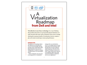 A virtualization roadmap from Dell and Intel